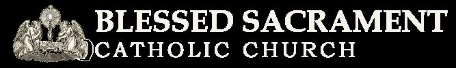 Blessed Sacrament Catholic Church Logo